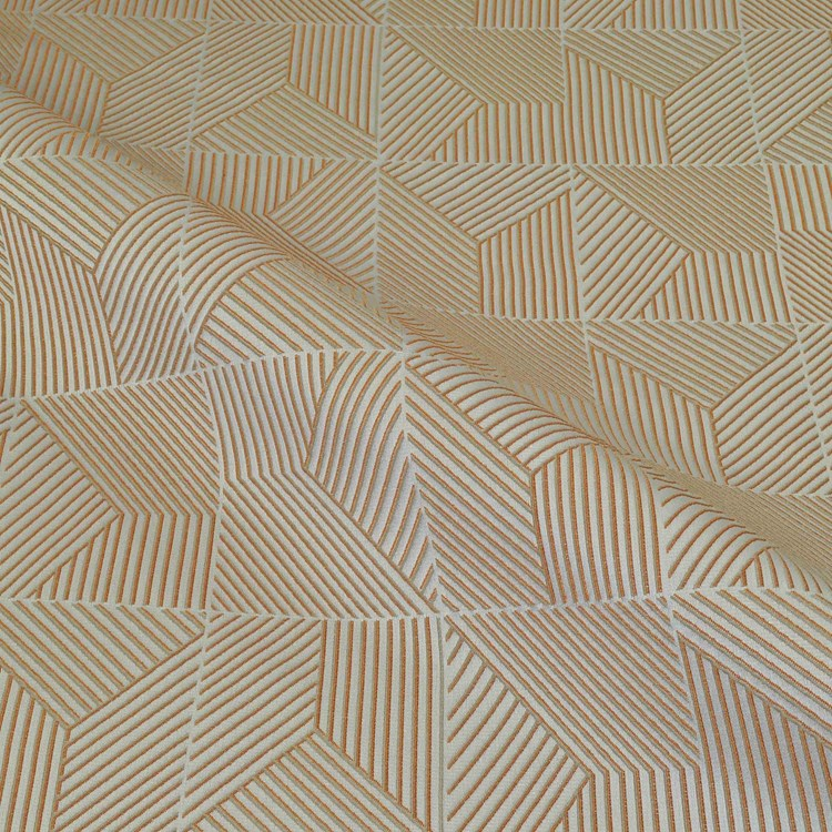 Drapery, Cruise Ship Fabric LIDO DECK In PERSIMMON By P
